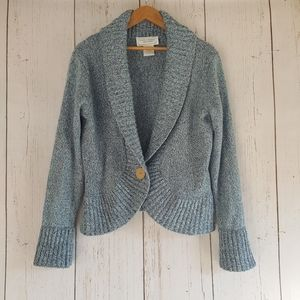 [United States Sweaters] Blue Knit Sweater